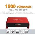 Octa Core Android Arab IPTV BOX T95Upro Free 1500 Europe Arabic IPTV Channels S912 2GB/16GB TV Box KODI WIFI H265 Media Player