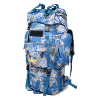 65L navy uniform Army Fans Outdoor Marine Camouflage Rucksack Training Tactical Backpack Inner Bracket a5302