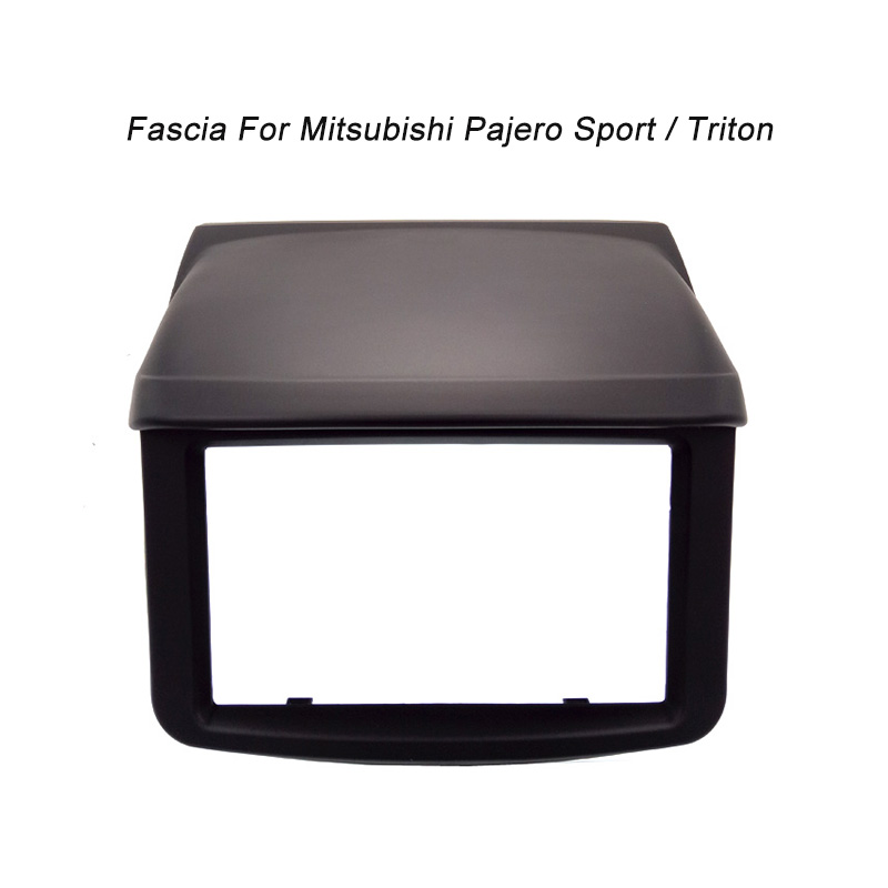 ФОТО CT-CARID DVD Radio Fascia for MITSUBISHI PAJERO SPORT /TRITON Stereo Facia Dash Trim Installation Kit Panel