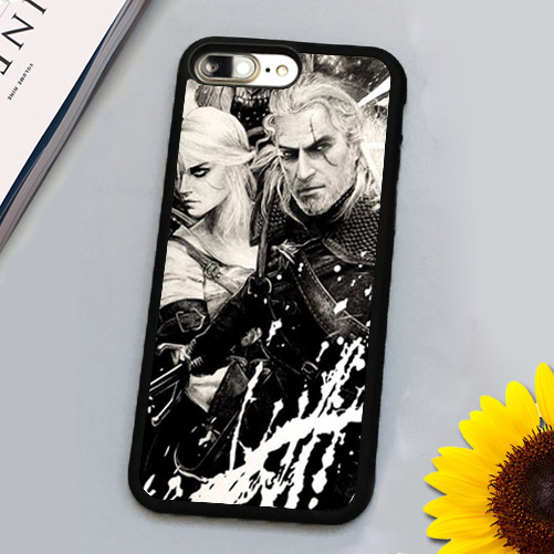 Amazing the witcher Printed Luxury Mobile Phone Cases Accessories For iPhone 7 7 Plus 4.7 5.5 inch Soft Rubber Back Cover Shell