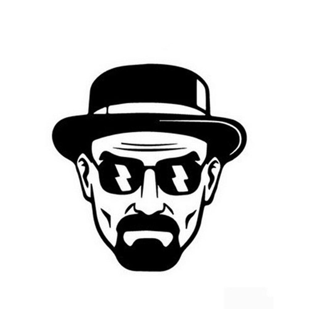 Best Selling Heisenberg Vinyl Car Window Sticker Decal Breaking Bad Walt White Cook Car Sticker