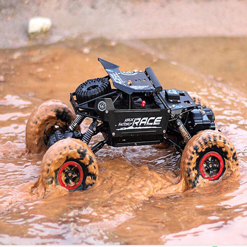 Rc Car 1.3KG 4CH 4WD Rock Crawlers 4x4 Driving Car Double Motors Drive Bigfoot Car Remote Control Car Model Off-Road Vehicle Toy 2 4g 4wd rc rock driving crawlers remote control car double motors drive bigfoot car model off road vehicle toy rc car model