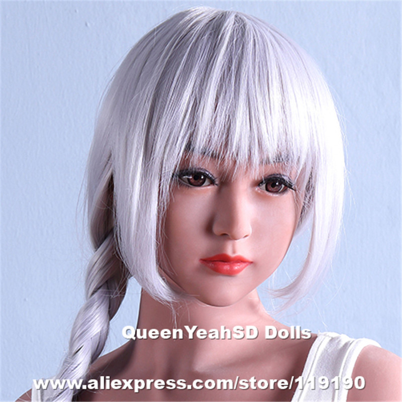 Top Quality Love Doll Heads For Silicone Adult Sex Dolls TPE Mannequin With Oral Sexy Sex Toys For Men top quality oral sex doll head for japanese realistic dolls realdoll heads adult sex toys