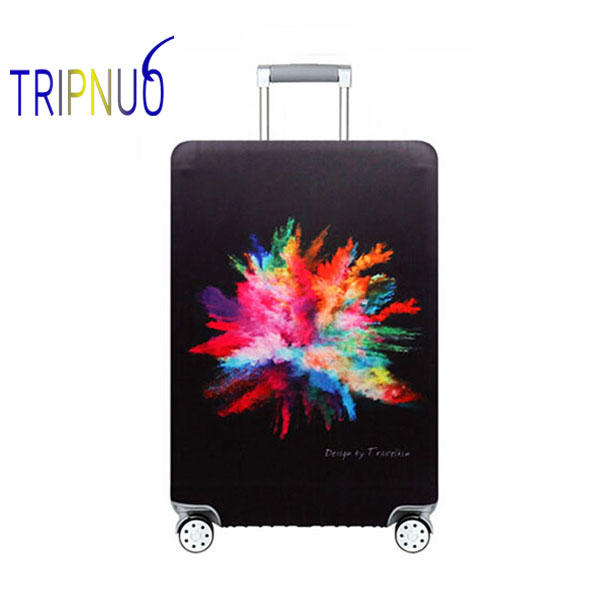 TRIPNUO Beautiful Travel Luggage Suitcase Protective Cover For Trunk Case Apply To 19''-32'' Suitcase Cover Elastic