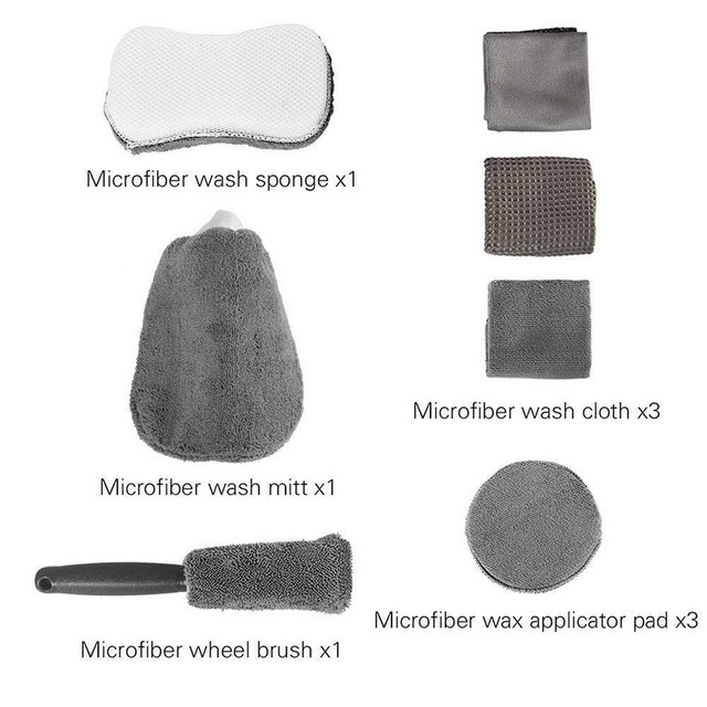 Microfibre Car Wash Cloth For Cleaning Gloves.