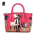 Pacento Я роскошные сумки женские сумки дизайнер сумка Италия Braccialini Стиль Креста Тела feminina sac главная bolsos mujer