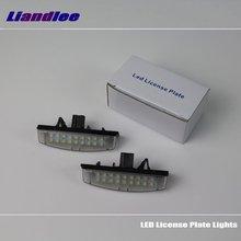 цены Liandlee For Lexus RX330 RX350 RX400h (MCU30/GSU35) 2004~2009 / LED Car License Plate Light / Number Frame Lamp LED Lights