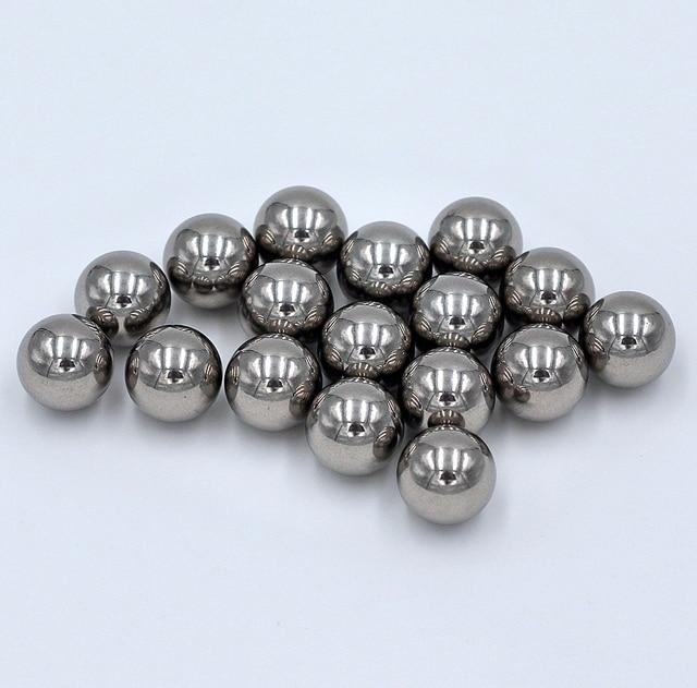 """Bolas de rodamiento de acero cromado de precisión G16 AISI 12,7, 50 Uds., (1/2mm) (52100 """"pulgadas), cromo endurecido"""