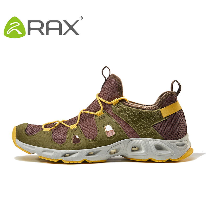 Rax Men Breathable Hiking Shoes Lightweight Outdoor Trekking Shoes Men Mountain Boots Trekking Sport Sneakers Men Climbing Shoes