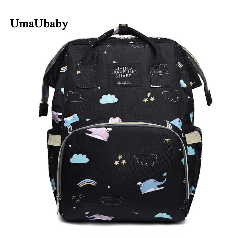 591494c40494 US $49.99 |Mommy Diaper Bags Maternity Nappy baby bag 35L cartoon  waterproof travel backpack Multi function Insulation panaleras bags 2018-in  Diaper ...
