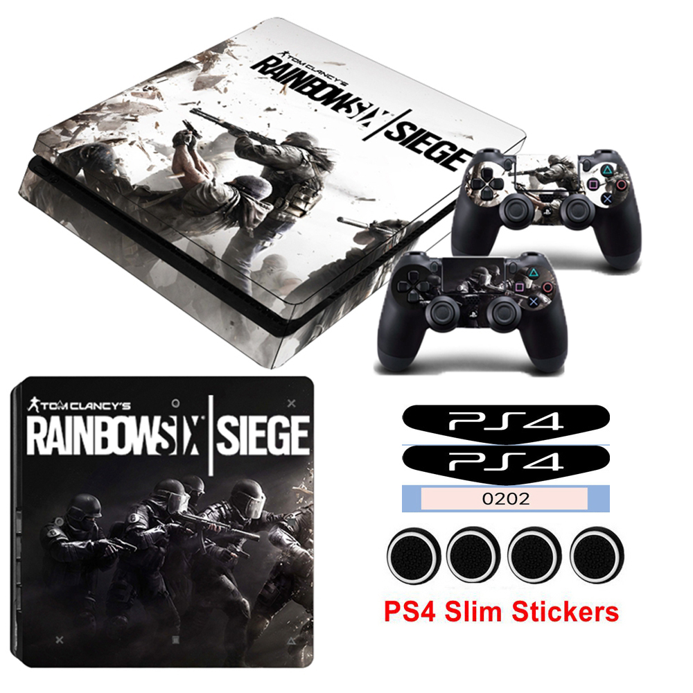Tom Clancy's Rainbow Six Siege PS4 Pro Skin Sticker Decal For Sony