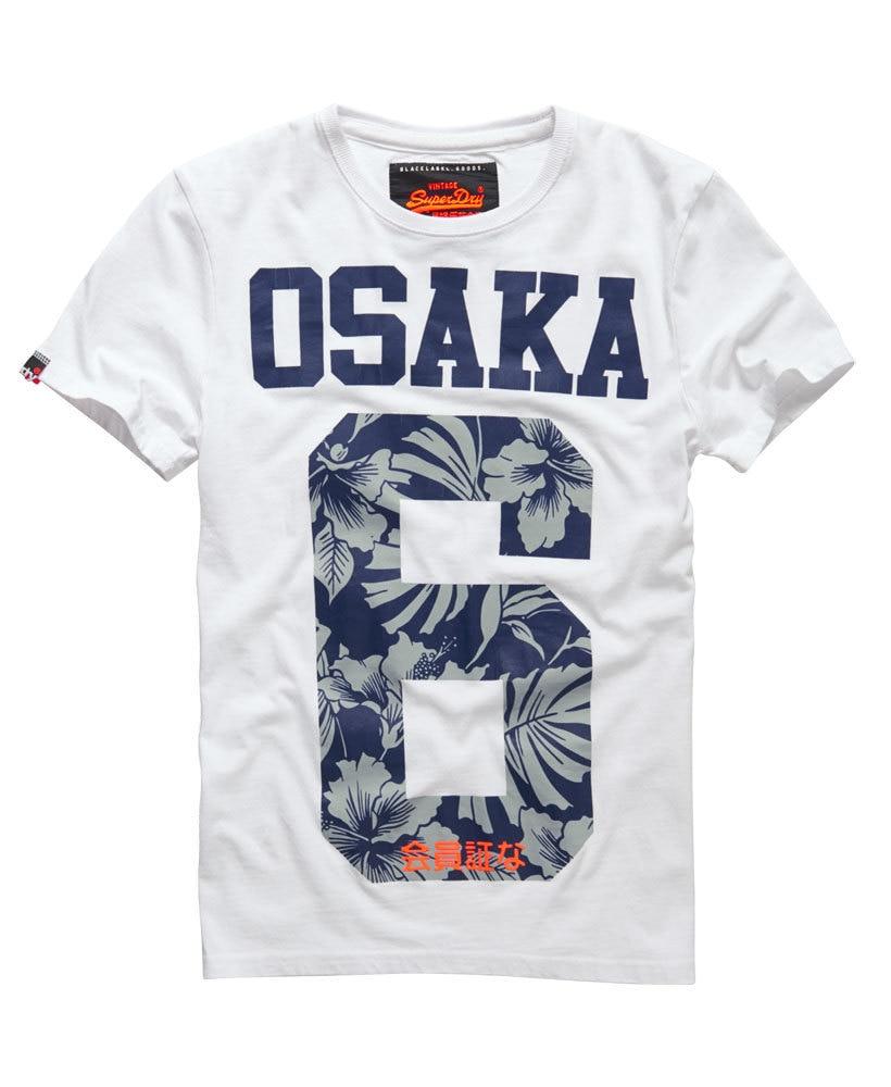 Man t shirt summer 2015 harajuku style osaka 6 floral for T shirt printing fairlane mall
