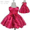 Горячие Продажи Гламур Платье Младенческой Цвета Смешивания девочка платья 2015 новый vestido infantil ребенок партия платья на 1 год день рождения