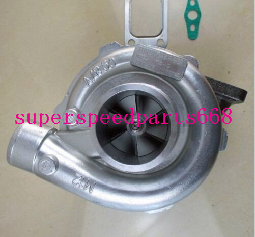 T3 2 T3/T4 GT35 GT3582 a/r0.50 a/r 0.63 T3 flange 4 bolts Journal bearing water and oil cooled turbo turbocharger