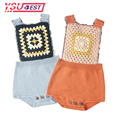 Knitted <font><b>Rompers</b></font> For Babies Spring Autumn Girl Baby <font><b>Romper</b></font> Set Infant Boys Clothes Jumpsuit Woolen Vintage Baby Clothes Overalls