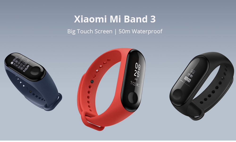 Pre-Sale Original Xiaomi Mi Band 3 Miband 3 Smart Band Smartband OLED Display Touchpad Heart Rate Monitor Bluetooth Wristbands Bracelet 1 (1)