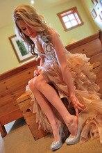 2016 Prom Kleider mit Korsett Schatz Cocktailkleider Sexy High Low Partei/prom Kleider Vestidos De fiesta vestido de noiva
