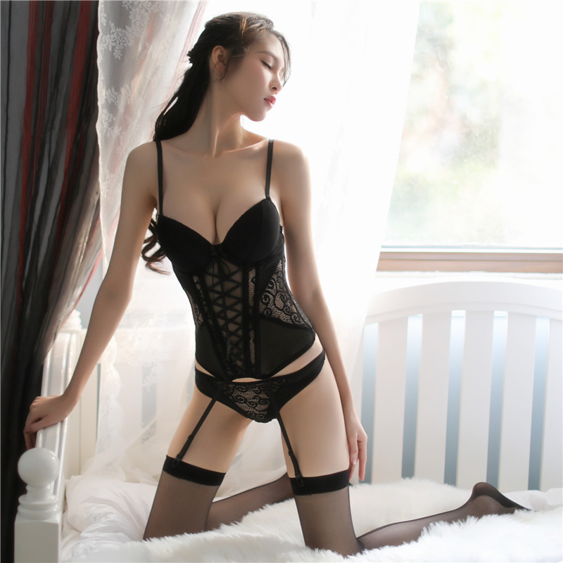 Sexy   Bustier   and   Corset   Women High Elastic   Corset   Female   Bustier   Overbust Push Up   Corset   Steampunk Accessories Sexy Lingerie