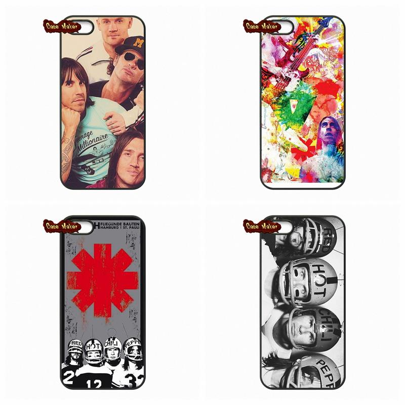 Rock band Red Hot Chili Peppers Cover Case For Samsung Galaxy Note 2 3 4 iPod Touch 4 5 HTC M7 M8 iPhone 4 4S 5S 5 5C 6 6S Plus