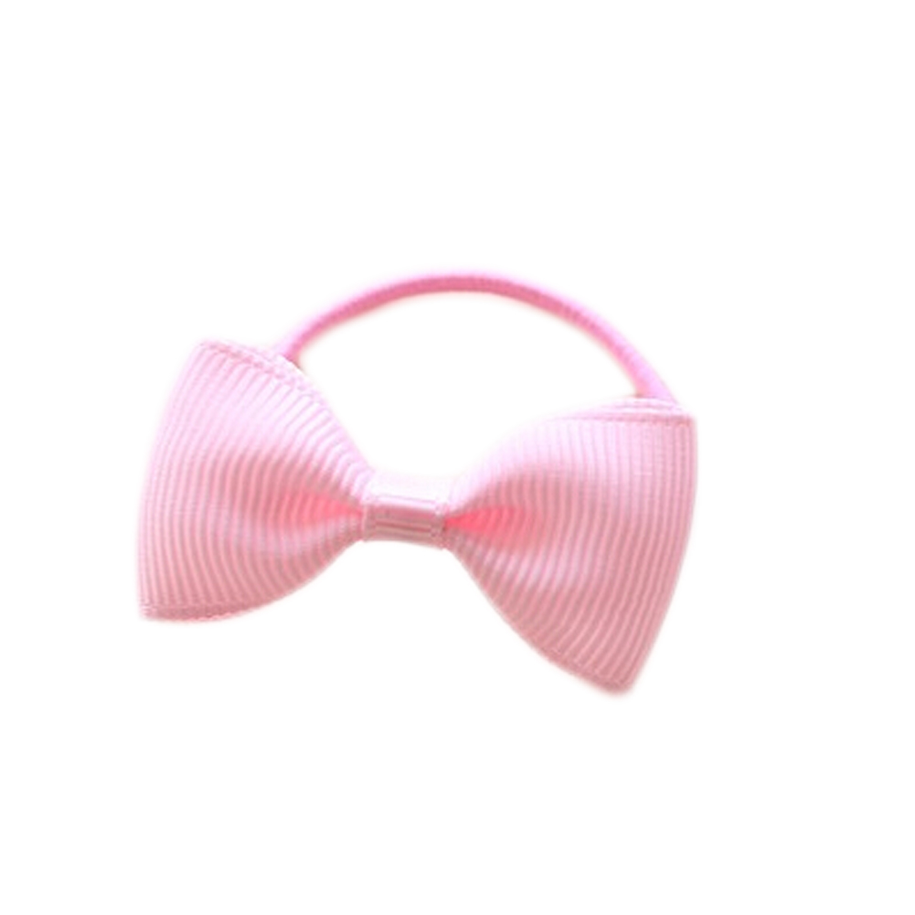 Colorful Girls Hair Ropes Ribbon Bows Elastic Rubber Bands Ponytail Holder Children Hair Accessories Ties Gum