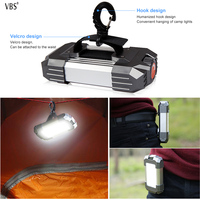 Multifunction USB charging rechargeable Portable Lanterns camping light with Lithium Ion Travel portable kit lantern lampion A1