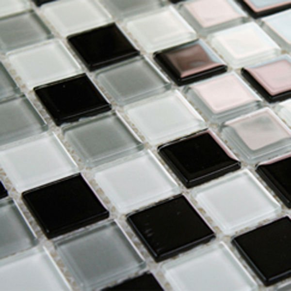 Crystal Gl Tile Sheets Square Tiling Mosaic Crafts Deco Mesh Kitchenl Backsplash Whole Bathroom Shower