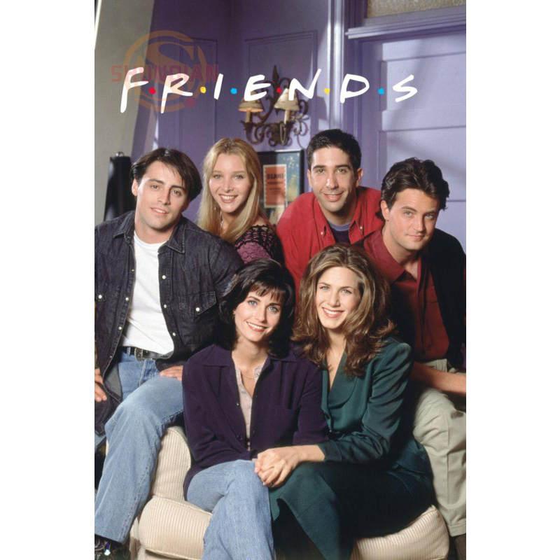 new friends tv show poster custom satin poster print cloth fabric wall poster print silk fabric print poster