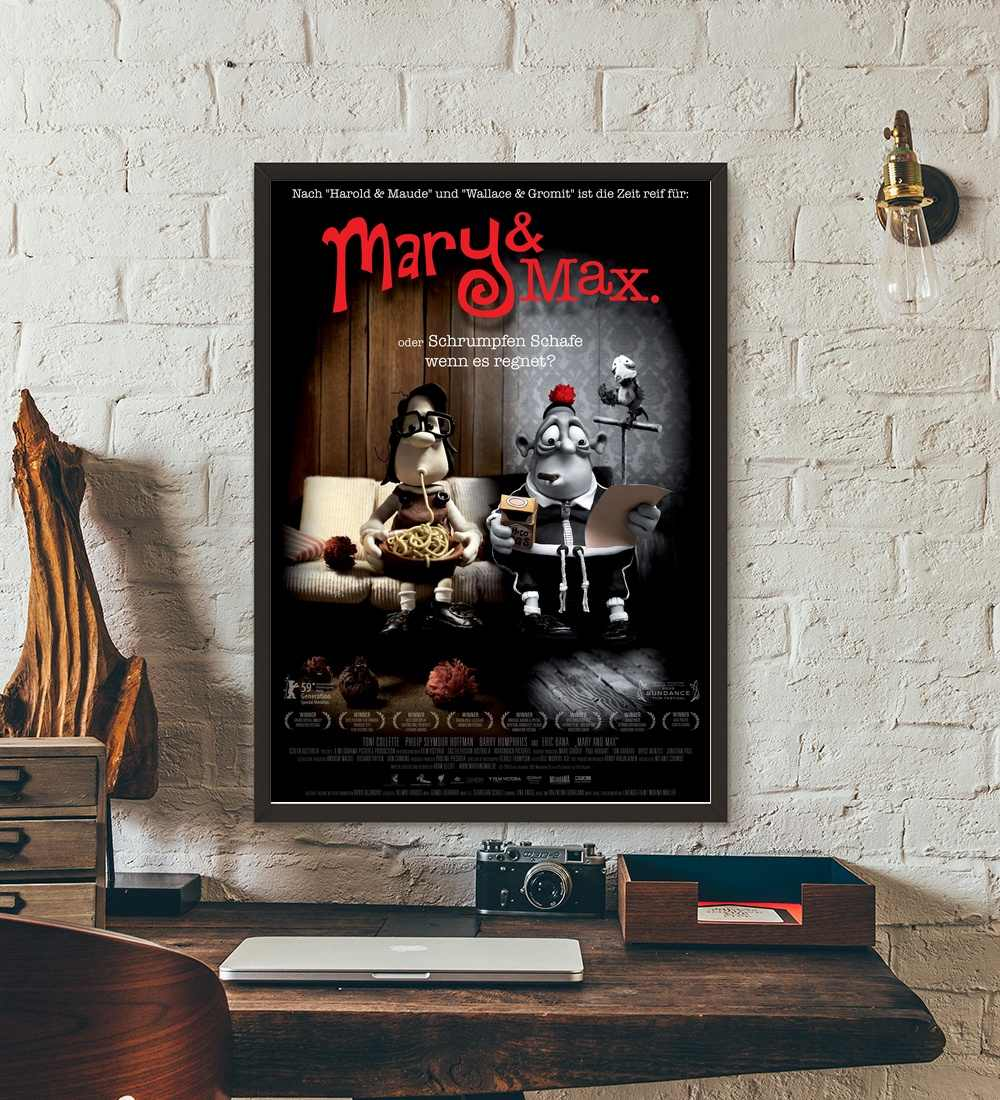 Mary And Max Movie Wall Art Paint Wall Decor Canvas Prints Canvas Art Poster Oil Paintings No Frame Aliexpress