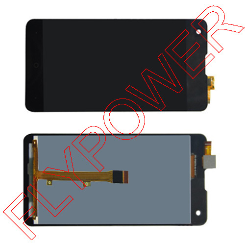 ФОТО 100% warranty For Highscreen Omega Prime S Full LCD display screen +digitizer touch glass assembly by free shipping