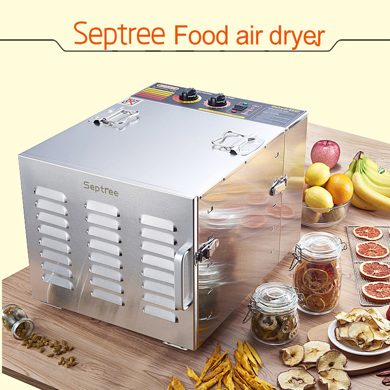 10 Layers Household Dried Fruit Machine Stainless Steel Fruits and Vegetables Dehydration Food Dryer Machine 220V/50HZ цена и фото