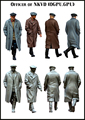Resin Kits  1/ 35  WWII officers of NKVD include 2 soldiers   figure  Resin Not color Model figure DIY TOYS new WWII WW2