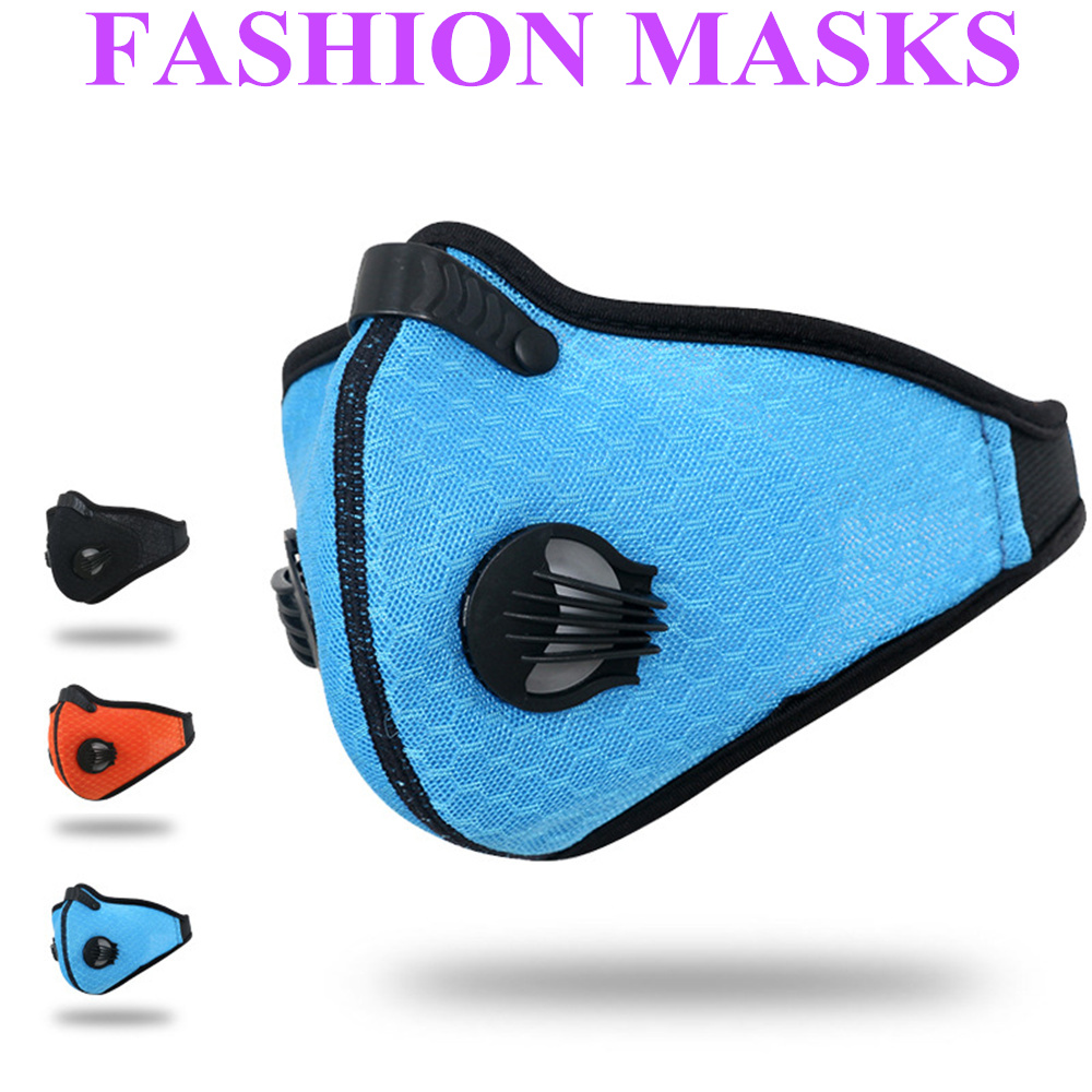 2018 Fashion PM2.5 Dust Activated Carbon Mask Cycling Mesh Cloth Respirator Breathable Filter Outdoor Running Protection Mask цена и фото
