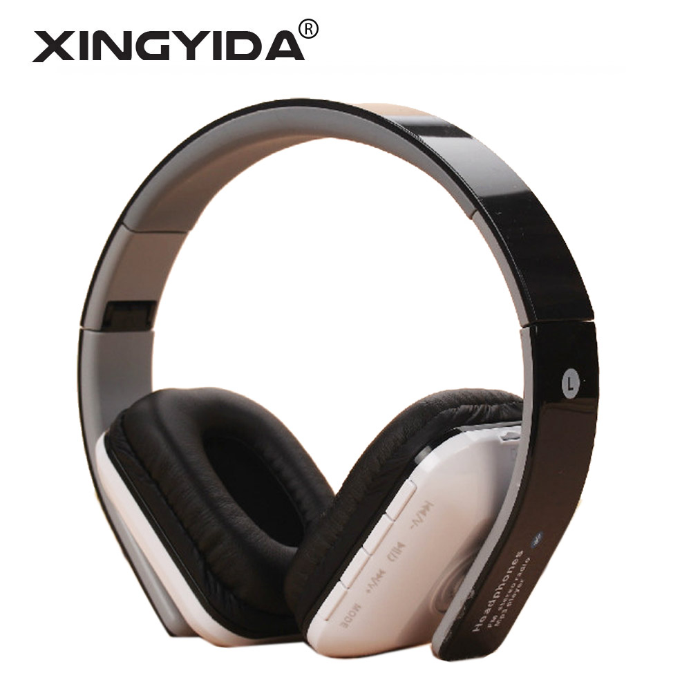 Xingyida Foldable Bluetooth Headphones Stereo Headset Soft