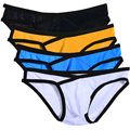 Avidlove Men Underwear Mesh Ventilate Briefs 4 colors Bikinis