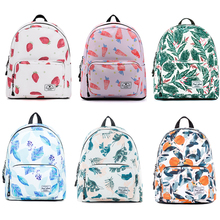Mini Mochila Printed Backpack Canvas Women Backpack School Bag For Teenage Girl Backpacks Casual Daily Small Bag Female Rucksack perilla brand small backpack travel bag unisex school bag for teenage students backpacks rucksack bookbags cool urban backpack