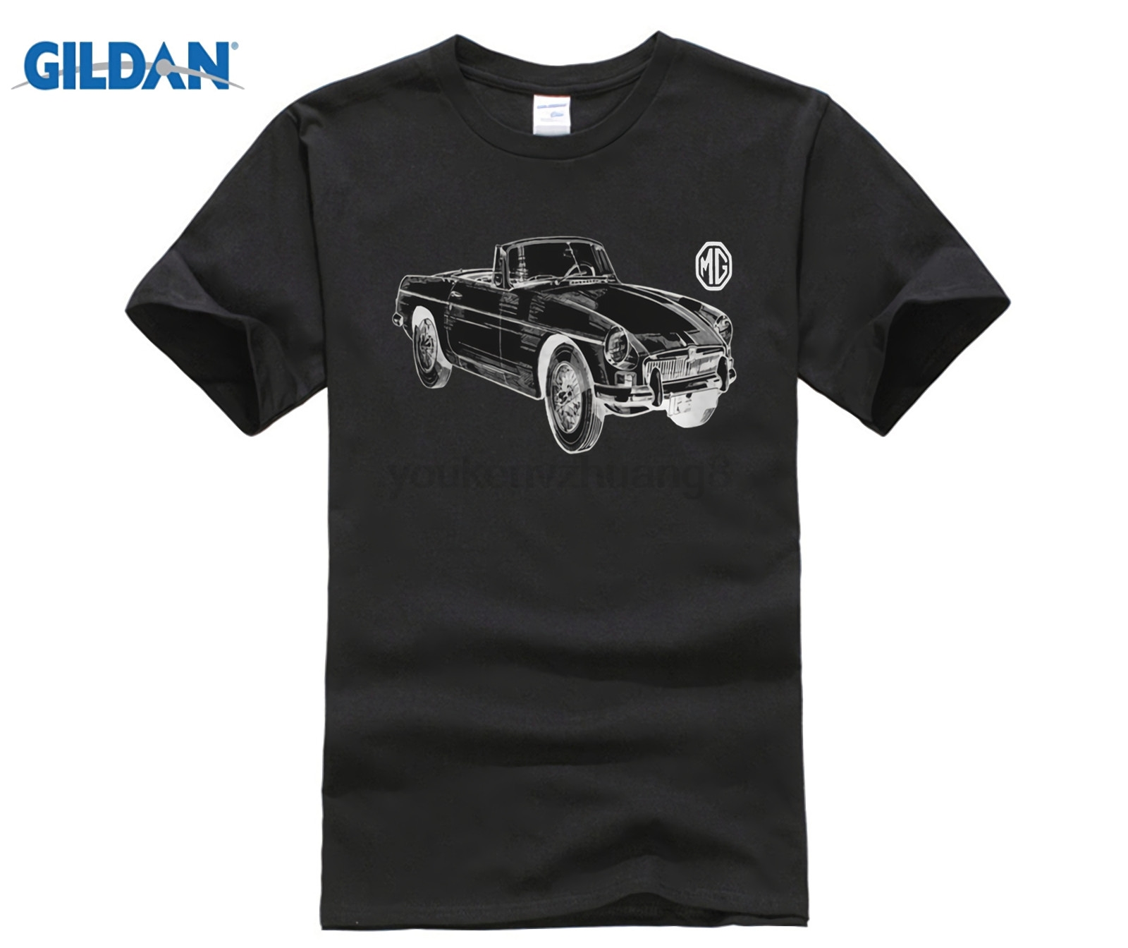 0b2be84e3 Men's High Quality Tees MG Rover T Shirt ZT ZR Midget MGB Retro Car ...