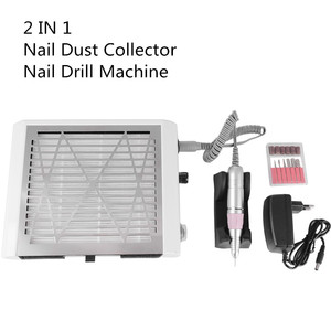 Image 5 - NAIL ART 2 in 1 30000rpm Nail Drill 45W Strong Nail Dust Collector Vacuum Cleaner Nails Art Tool Manicure Pedicure Machine
