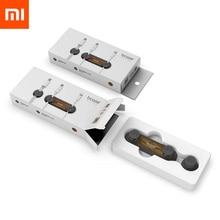 Xiaomi Mijia Магнитный абсорбционный держатель кабельного зажима Совместимость практичная Магнитная основа текстура древесины