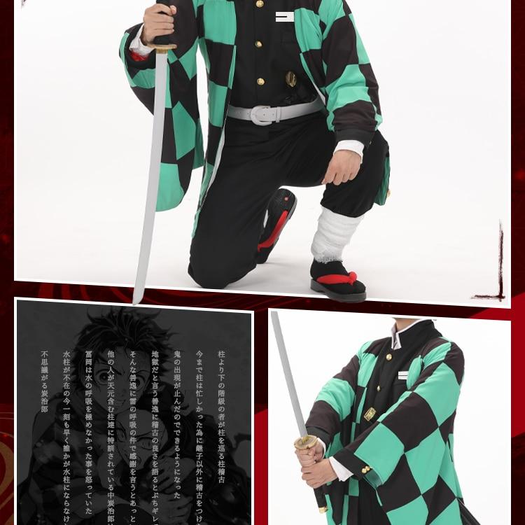 Green Demon Costumes Kneel