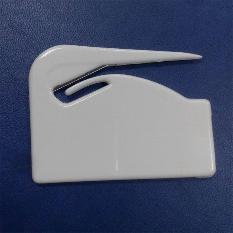 200pcs Durable Plastic Letter Mail Envelope Opener Mini Letter Knife Office Equipment Safety Paper Guarded Cutter Blade