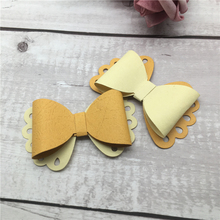 New Butterfly Bow Carbon Steel Cutting Dies Stencil Craft Creative Scrapbook Stamps Embossing Paper 14.1*9cm 1pcs