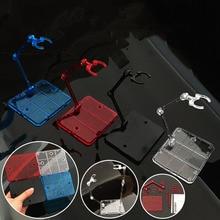 10 adet Action Figure Tabanı Uygun Ekran stand braketi 1/144 1/100 HG/RG SD rabot Gundam/Animasyon SAHNE ACT takım elbise
