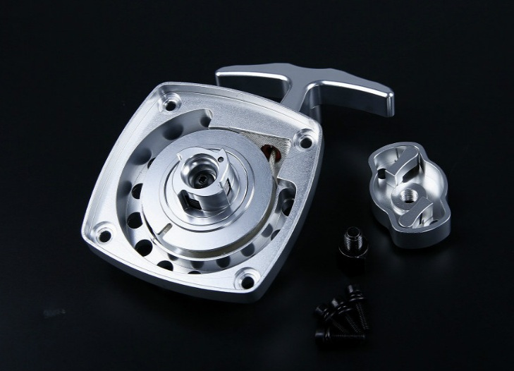 CNC metal easily starting pull starter and driver plate fit Zenoah rovan  32cc engines rc car parts