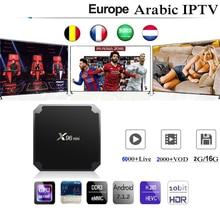 X96mini Iptv France Spain Europe Arabic Israel Belgium Adult Sport Box With 1 Ye
