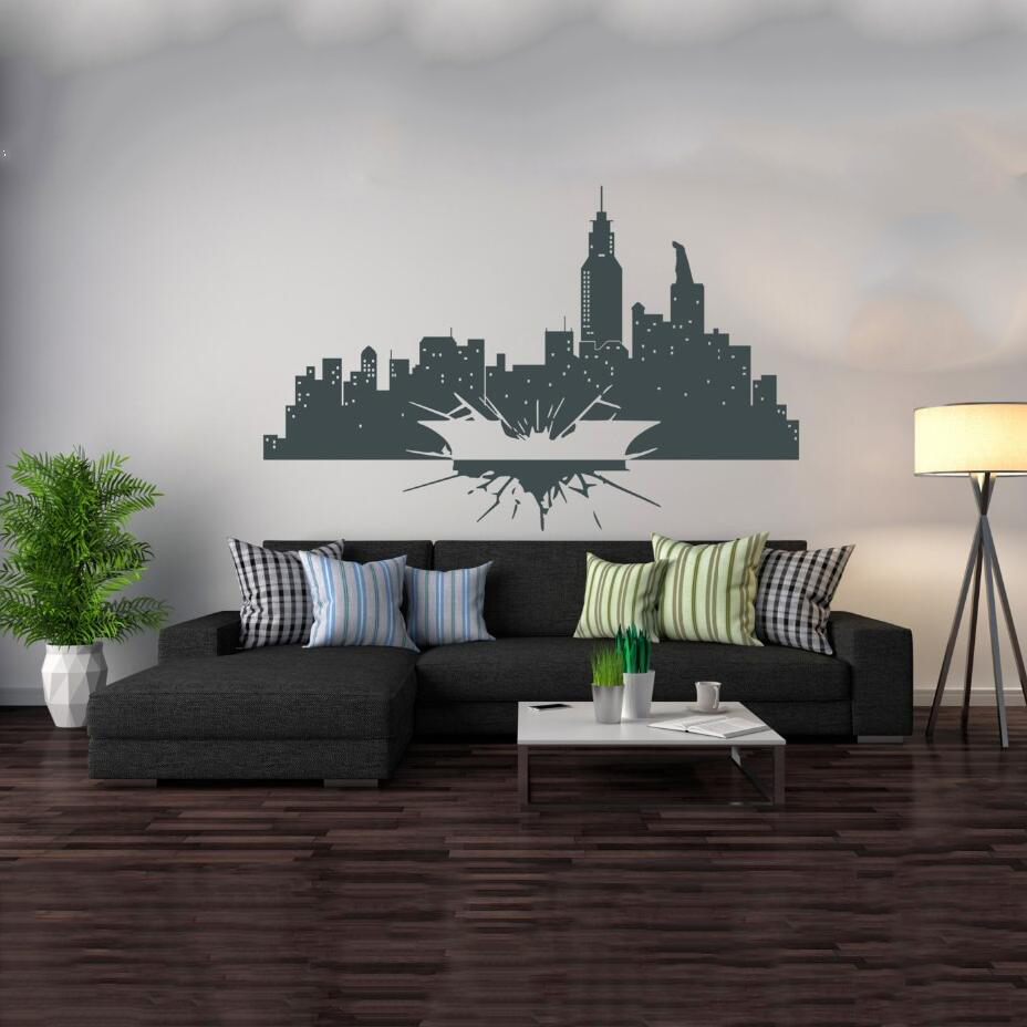 Wall Decal Vinyl Sicker Batman Dark