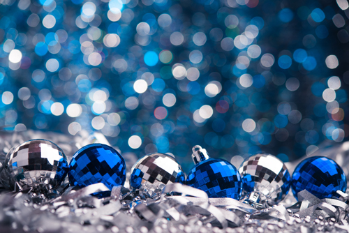 Xmas Tree Hd Wallpaper Sapphire Blue Christmas Photography Background Wedding
