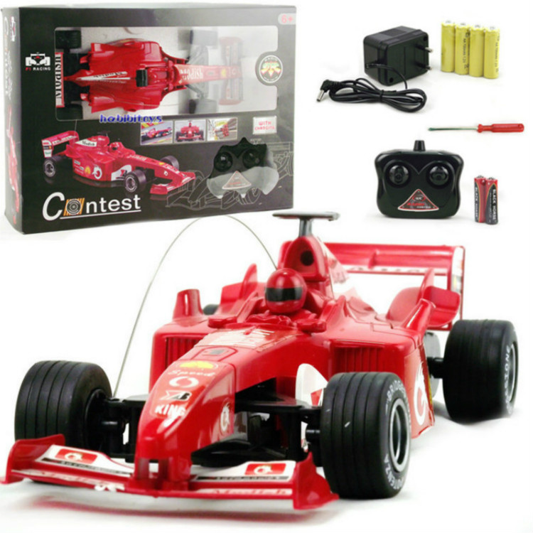1:18 Large RC F1 Formula Racing Diecast Model Car Toy Kid Remote Control Racing Formula One Electric Toy Car for Boy Child Gift