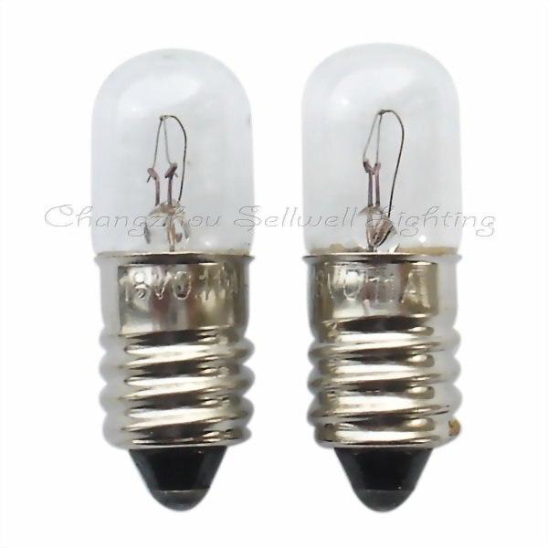 Купить с кэшбэком E10 T10x28 18v 0.11a Great!miniature Lamp Light A356