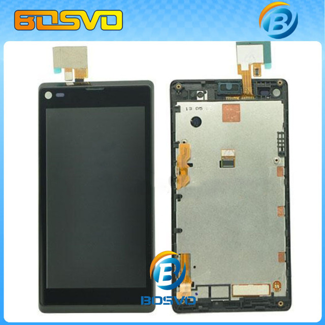 Replacement for Sony for Xperia L S36H S36 C2105 C2104 LCD display with  touch digitizer with frame 1 piece free shipping-in Mobile Phone LCDs from