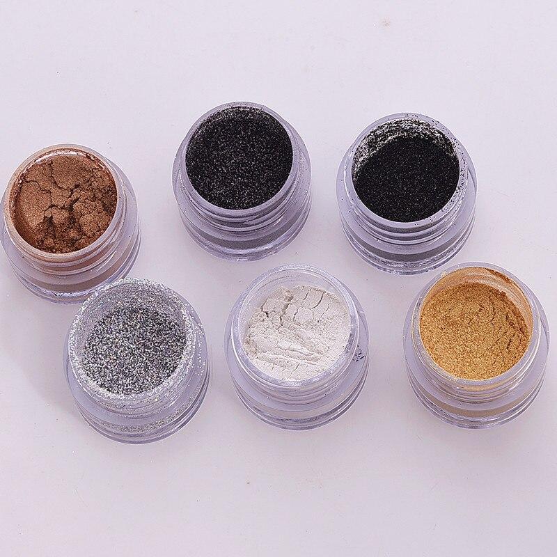 AAA010 Nail Decoration Colorful Fashion beauty Nail Glitter Powder Gorgeous Shiny Dust Powder Manicure Nail Art Glitter